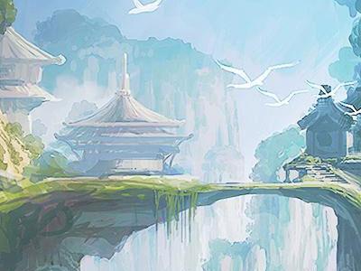 《远征OL》壁纸原画
