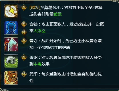 【图鉴】火影忍者ol蛇姬[琥珀]图鉴属性资料