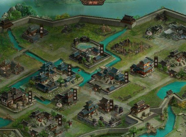 《大皇帝》城池系统