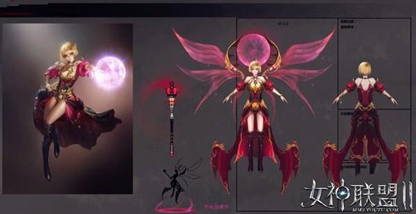 灭世召唤《女神联盟2》划时代红将诞生