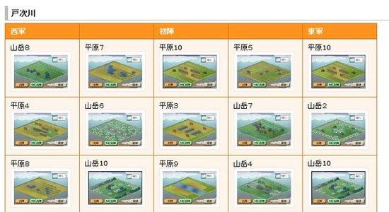 【合战】6月3日猫合战对阵信息及地形