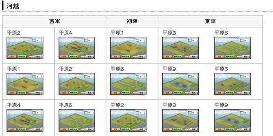 【合战】7月3日猫合战对阵信息及地形