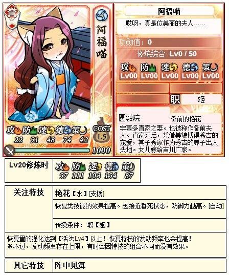 【合战】信喵8月13日猫合战对阵信息及地形
