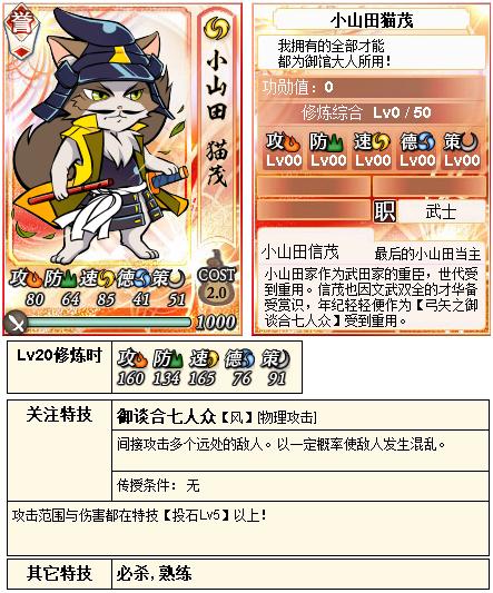 【合战】10月12日猫合战对阵信息